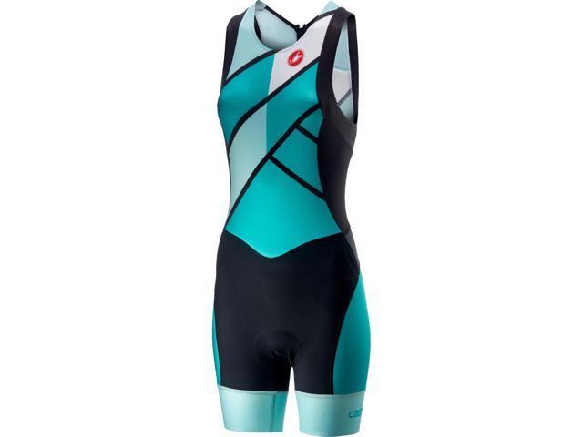 Castelli 2019 Women's Free Tri ITU Triathlon Suit - T18119 (Turquoise Green  - L) - Newegg com