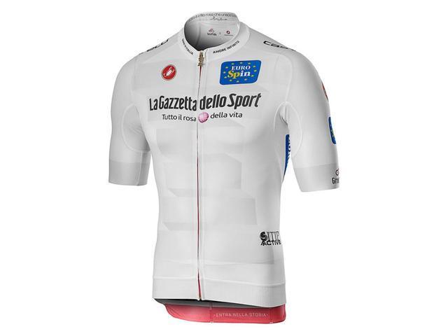 Castelli 2019 Men/'s A Bloc Full Zip Short Sleeve Cycling Jersey A19018