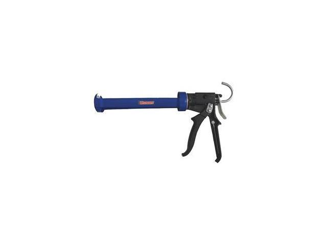 Caulk Gun, High Thrust, Blue/Black, 10 3 Oz - Newegg com