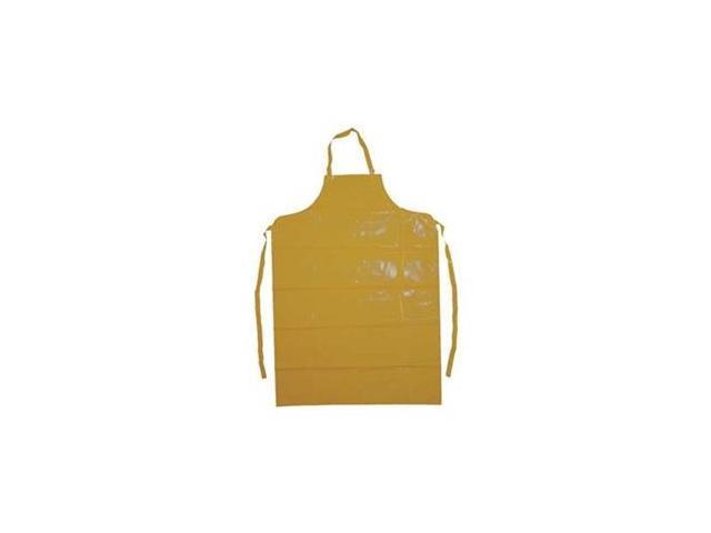 L CONDOR 1N872 Bib Apron,Yellow,45 In