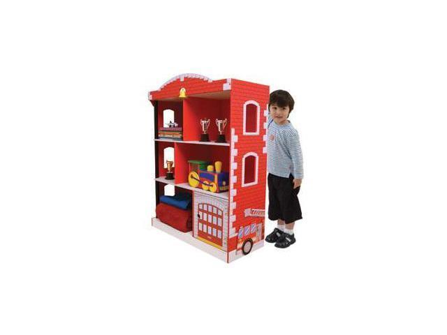 Kidkraft Firehouse Bookcase Newegg Com