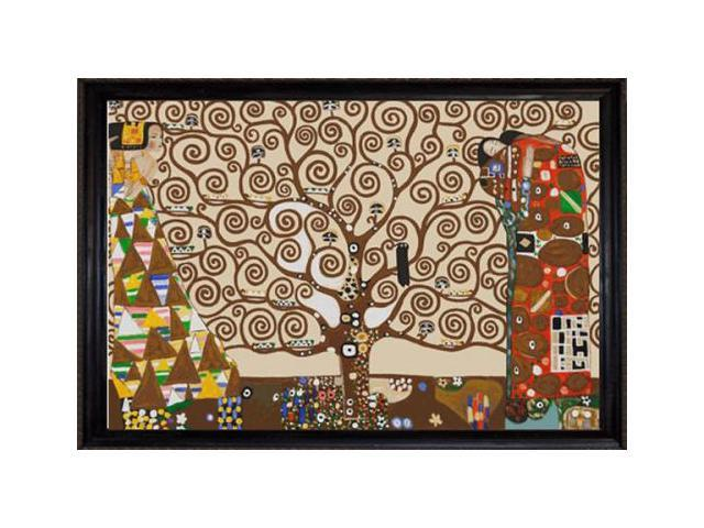 Klimt Paintings The Tree Of Life Stoclet Frieze 1909 Pre Framed Hand Painted Canvas Art