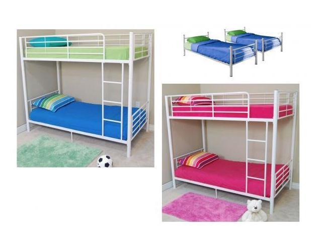 Twin Bunk Beds Metal By Walker Edison Newegg Com