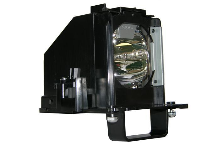 Mitsubishi WD65837 Rear Projector TV Assembly with OEM Bulb and Original Housing
