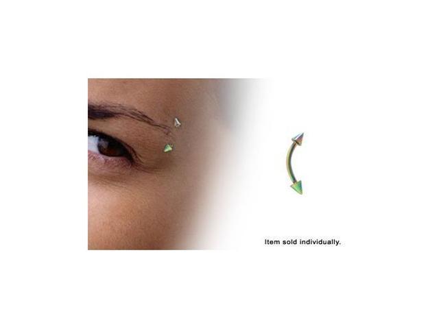 Anodized Titanium Multi Neon Color Eyebrow Rings 16 Gauge Newegg