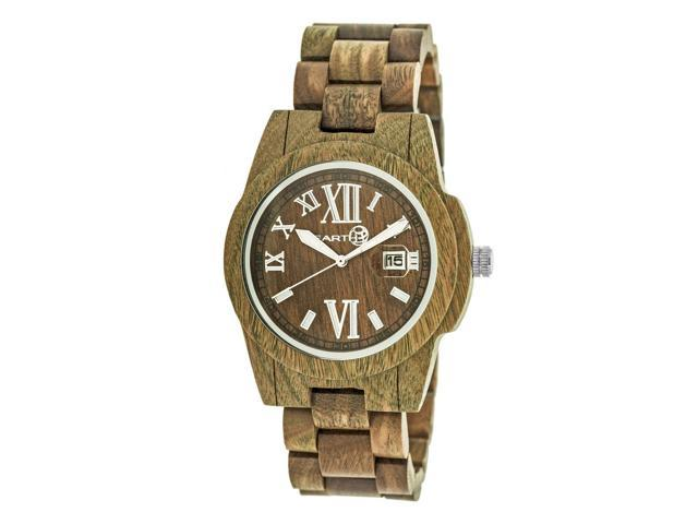 Astonishing Earth Wood Heartwood Bracelet Watch W Date Olive Newegg Com Gmtry Best Dining Table And Chair Ideas Images Gmtryco
