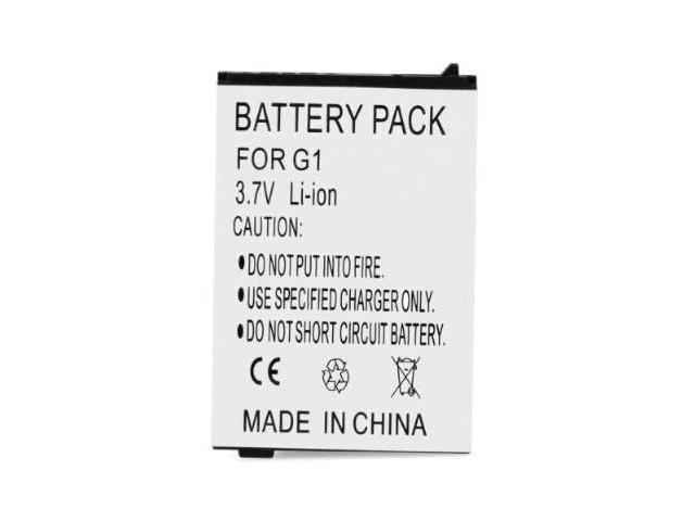 1150mAh Li-ion Replacement Battery fits T-Mobile G1, HTC Dream, HTC Dream 100, Google G1