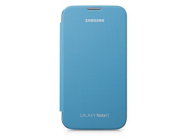 best loved ff593 e230a OEM Flip Case for Samsung Galaxy Note 2 (Light Blue) - Newegg.com