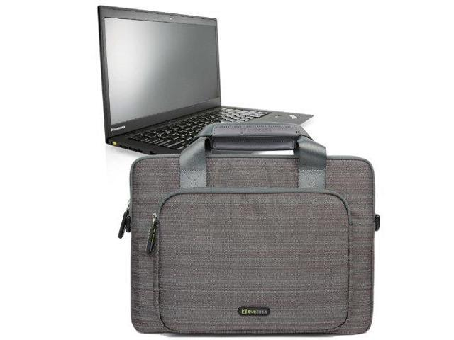 Evecase Suit Fabric Multi Functional Neoprene Briefcase Case Tote Bag For Lenovo Thinkpad X1 Carbon