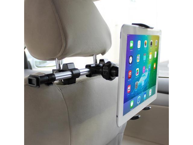 New 1 Pcs Black 360° Headrest Back Seat Car Holder Mount Kit For Cell Phone GPS
