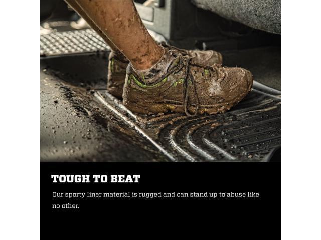 Husky Liners 94091 Weatherbeater Front /& 2nd Seat Floor Mats Fits 2019 Dodge Ram 3500 Crew Cab