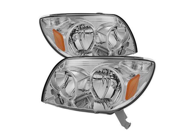 Spyder Auto Toyota 4Runner 03-05 Crystal Headlights - Chrome 9023576 -  Newegg com