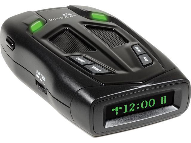 Whistler Z-31R+ Bilingual (English/Spanish) High Performance Radar Laser  Detector With Real Voice Alerts and GPS Red-Light Camera Detection -