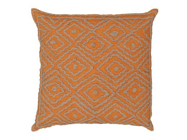 40 Summer Orange And Earthtone Beige Decorative Throw Pillow Down Enchanting Earth Tone Decorative Pillows