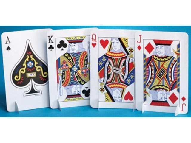 Pack Of 12 Royal Flush Jack King Queen Ace Playing Cards Birthday