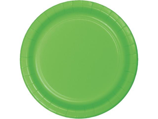 Club Pack Of 96 Green Dinner Disposable Decorative Plastic Party Plates 9 Newegg Com