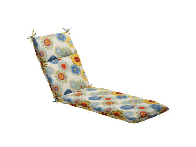 """72.5"""" Eco-Friendly Blue Multi-Colored Floral Outdoor"""