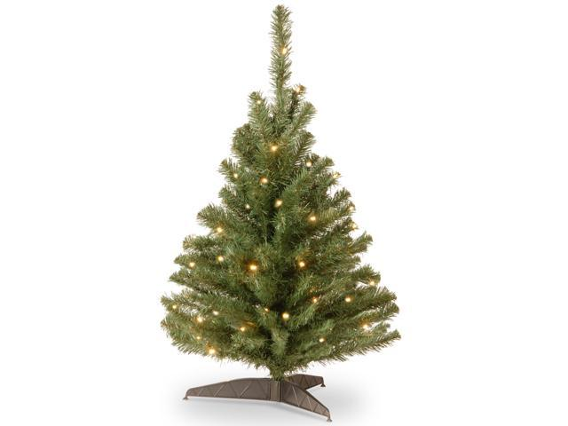 3' Pre-lit Kincaid Spruce Artificial Christmas Tree