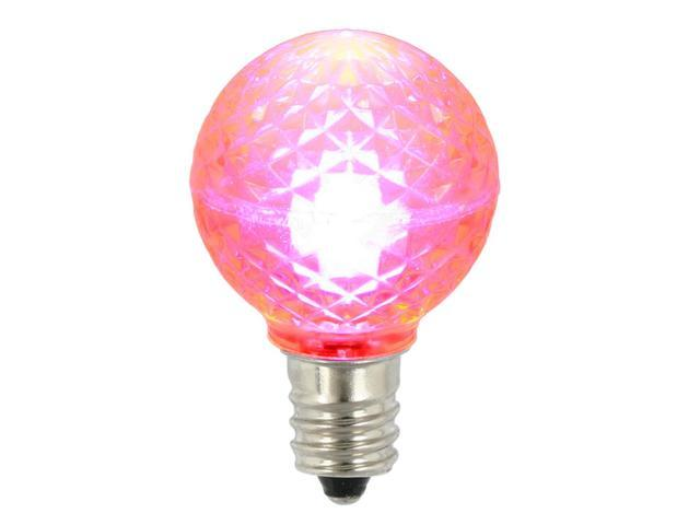 Replacement Christmas Light Bulbs.Pack Of 25 Led G30 Pink Replacement Christmas Light Bulbs 2 Newegg Com