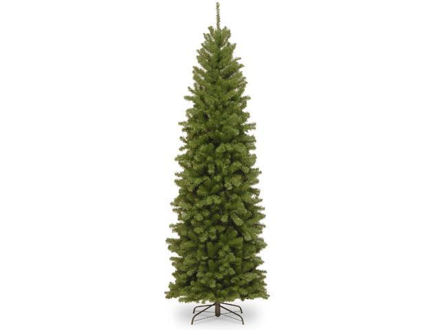 9' North Valley Spruce Slim Artificial Christmas Tree