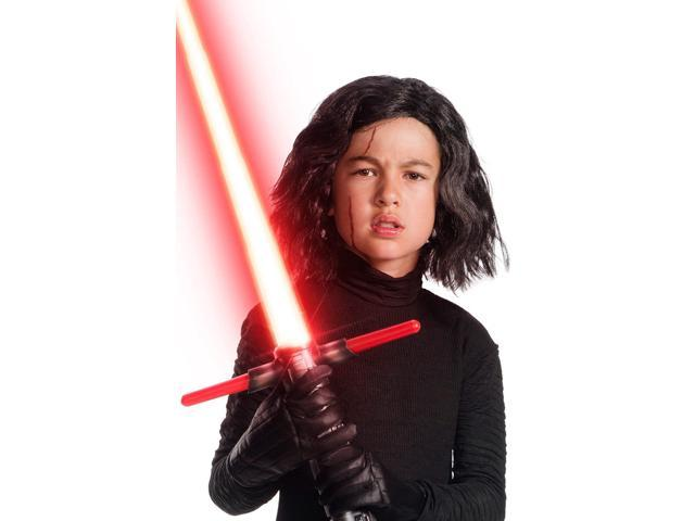 Star Wars The Last Jedi Kylo Ren Child Costume Wig Scar Kit Newegg Com