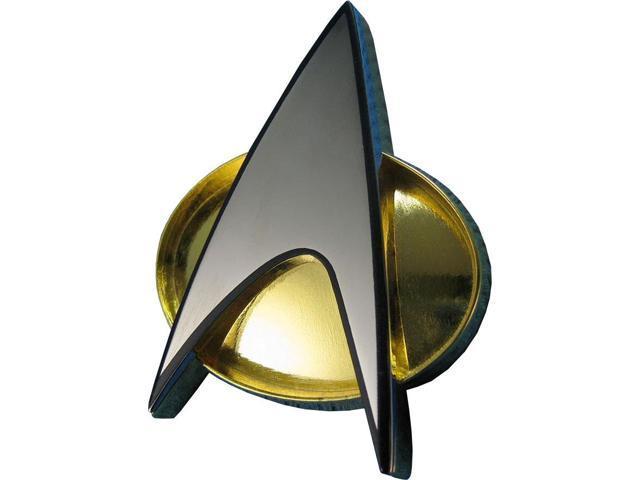 Star Trek Next Generation Communicator Badge Prop Replica - Newegg com