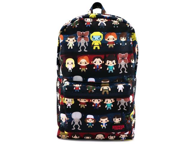Loungefly x Stranger Things Baby Character AOP Backpack - Newegg com