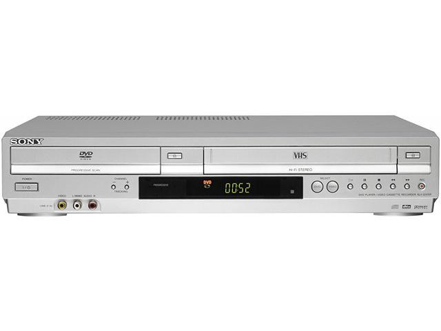 Used - Very Good: SONY SLV-D370P DVD/VCR Progressive Scan Combo Player -  Newegg com