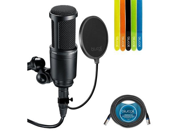 AT2020 CARDIOID CONDENSER MICROPHONE WINDOWS 7 DRIVERS DOWNLOAD (2019)