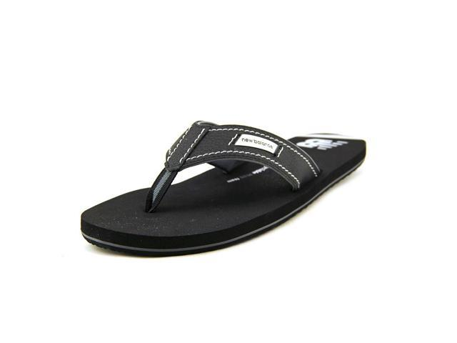 72883705a0c5b0 New Balance Heritage Thong Men US 8 Black Flip Flop Sandal UK 8 ...