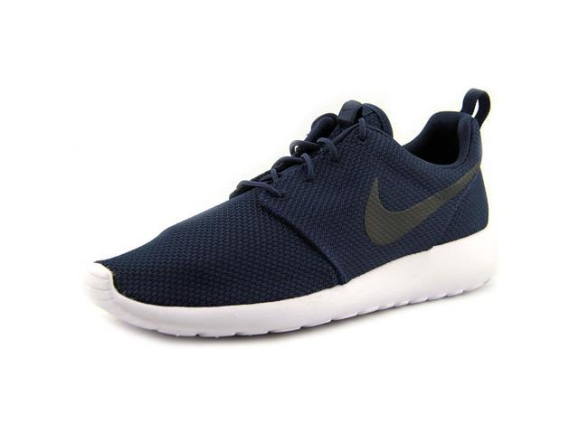Nike RosheRun Men US 9.5 Blue Running Shoe