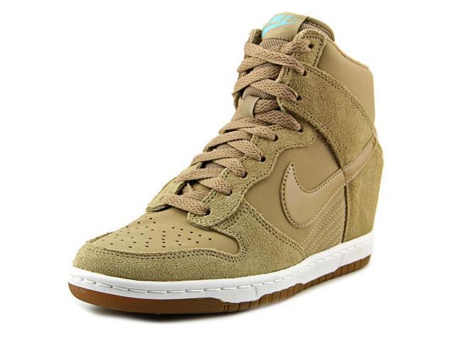 grande vente 1f6f1 aa497 Nike Dunk Sky Hi Women US 9.5 Tan Sneakers - Newegg.com