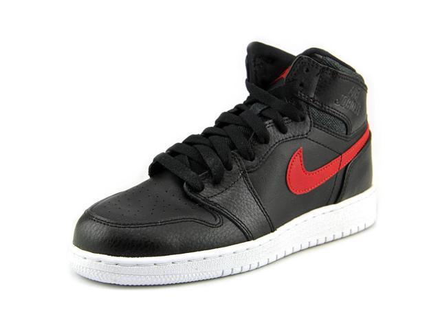 1d23d76be685 Jordan Air Jordan 1 Retro High Youth US 6 Black Basketball Shoe ...