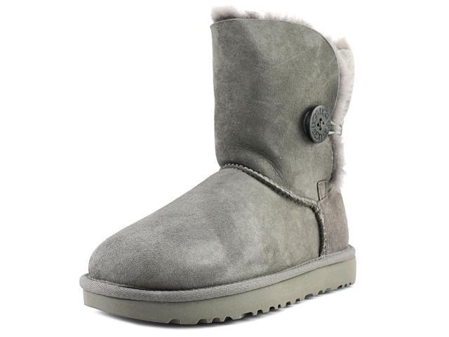 4cb79120e8a Ugg Australia Bailey Button II Women US 5 Gray Winter Boot - Newegg.com