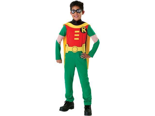 Kids Teen Titans Robin Costume - Neweggcom-5627