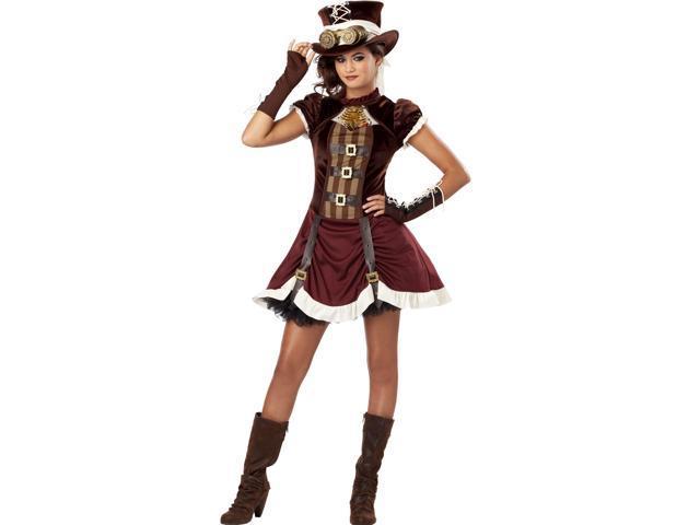 Gothic Ste&unk Girl Tween Halloween Costume  sc 1 st  Newegg.com & Gothic Steampunk Girl Tween Halloween Costume - Newegg.com