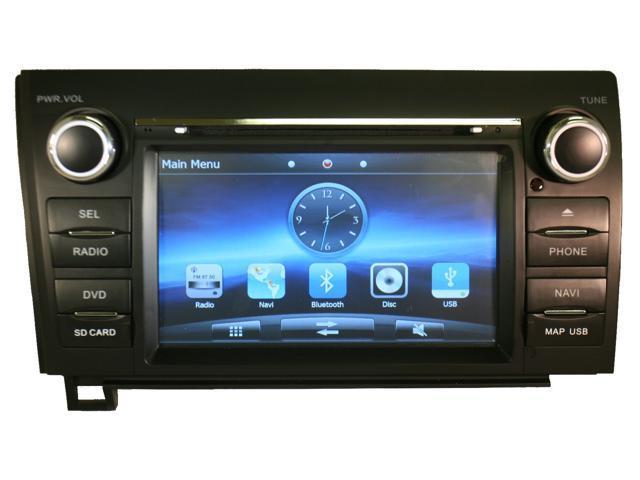 Toyota Tundra 2007-2012 K-Series In-Dash Multimedia Navigation GPS System  Radio FM/AM Aux iPod DVD USB CD SD Double Din Bluetooth - Newegg com