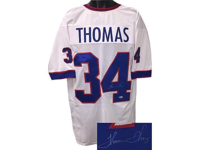 big sale 8b5b1 35827 Thurman Thomas signed White TB Custom Stitched Pro Style Football Jersey  XL- Beckett Hologram - Newegg.com