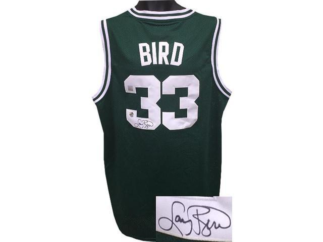 cheap for discount 2f508 f3d03 Larry Bird signed Boston Celtics Green Adidas TB Hardwood Classics Jersey  XL +2 length- Bird/SSG Holograms - Newegg.com
