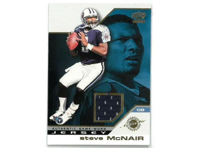 quality design d5acd 1307f Steve McNair Tennessee Titans 2002 Pacific Authentic Game Worn Jersey Card  #48 - Newegg.com
