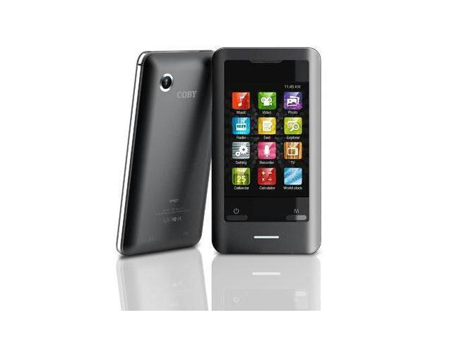 coby 2 8 black 8gb video mp3 player mp828 newegg ca rh newegg ca Coby MP3 Player Parts Coby MP3 Player Support