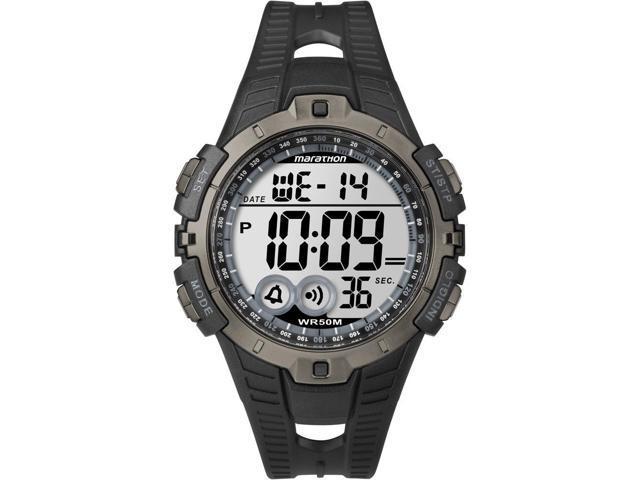 Timex Marathon Digital Full-Size Watch - Black/Gray Marathon Digital Full Size Watch