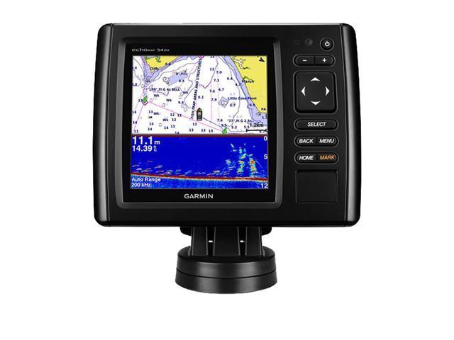 Garmin echoMAP CHIRP 54cv Fishfinder / Chartplotter with ClearVu Transducer