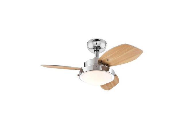 Two Light 30 Inch Indoor Ceiling Fan