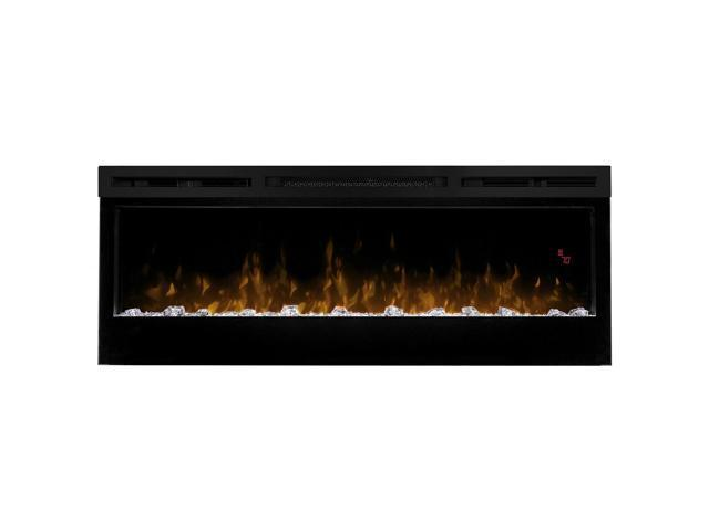 Astonishing Dimplex Prism 50 Wall Mount Linear Electric Fireplace Insert In Black Newegg Com Interior Design Ideas Clesiryabchikinfo