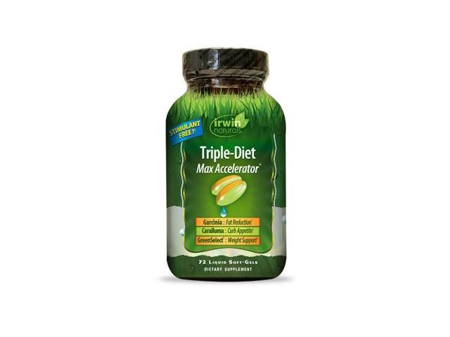 Triple-Diet Max Accelerator - Irwin Naturals - 72 - Softgel