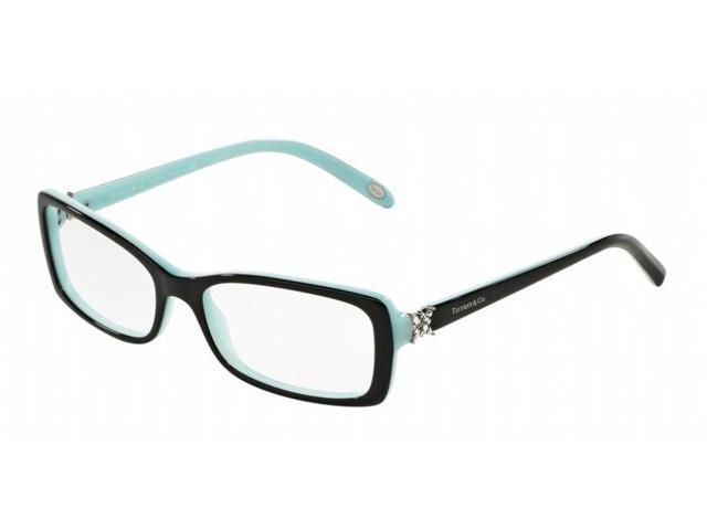 e76b3625e56 Tiffany Optical 0TF2091B Full Rim Rectangle Womens Eyeglasses - Size 53  (Top Black Blue