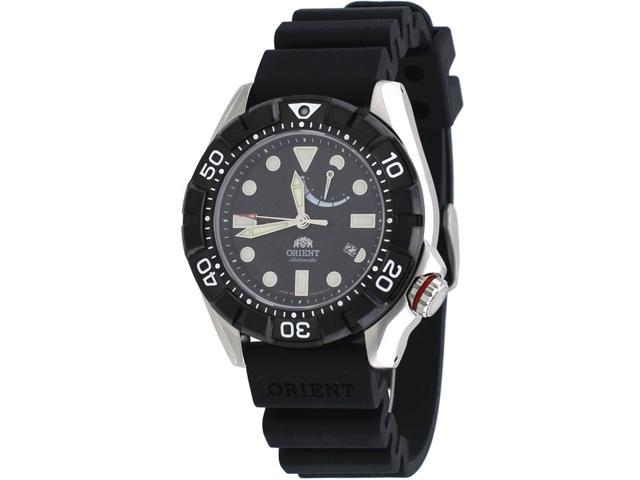 Orient #SEL03004B Men's M-Force Air Diver Power Reserve Automatic Watch -  Newegg com