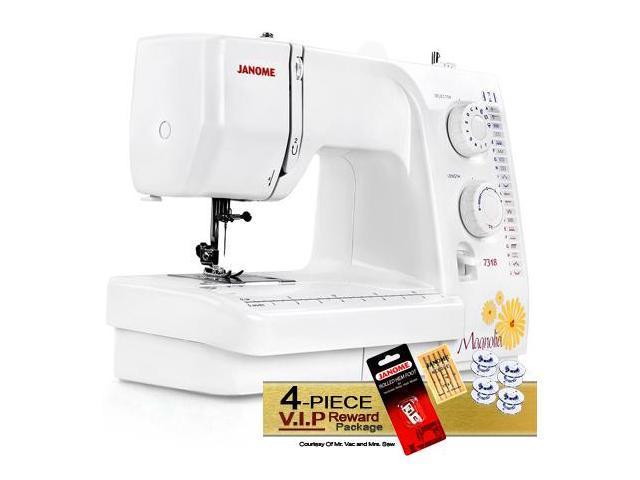 Janome Magnolia 400 Sewing Machine W FREE 40Piece VIP Reward Unique Janome Magnolia 7318 Sewing Machine