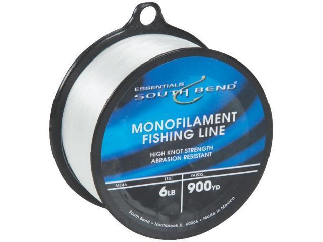 South Bend M146 Clear Monofilament Fishing Line - 6 lb x 900 yds ...